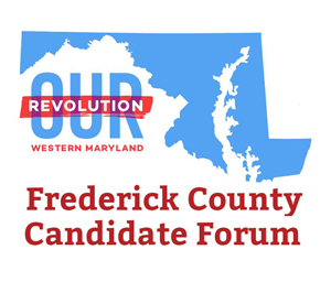 """Our Revolution"" Candidate Forum (May 8) and their questionnaire with my responses"