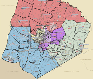 Important! Redistricting coming to Frederick County council districts